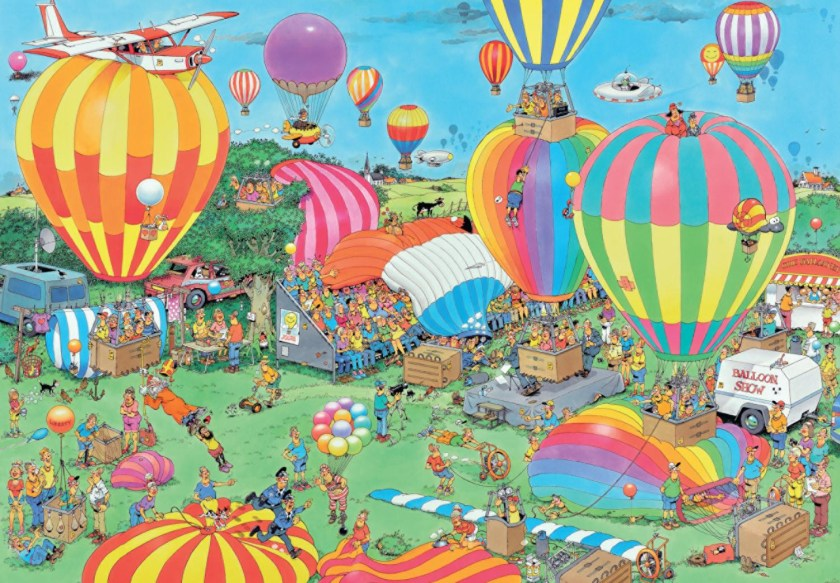 The Balloon festival
