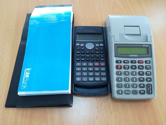 Accountant's tools of trade