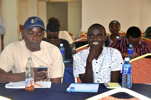 Participants at a previous training in Kiambu BAKE