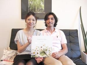 福岡 フォトスタジオ 結婚準備 ウエディングアルバム ブライダル撮影 前撮り ロケ撮 0358 スナップ撮影 披露宴の写真