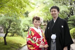 結婚準備 福岡 ウエディングアルバム ブライダル撮影 前撮り 友泉亭 ロケ撮 結婚式の写真 0358