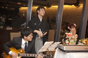 福岡 ロケ撮 レストランウエディング ブライダル撮影 披露宴の写真 スナップ撮影 ウエディングアルバム デジタル 格安 オシャレ 0358