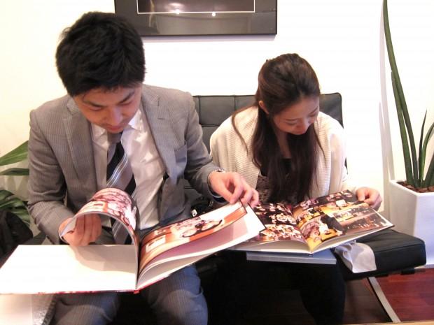 福岡 前撮り 大名 天神 結婚準備 ウエディングアルバム ブライダル撮影 0358