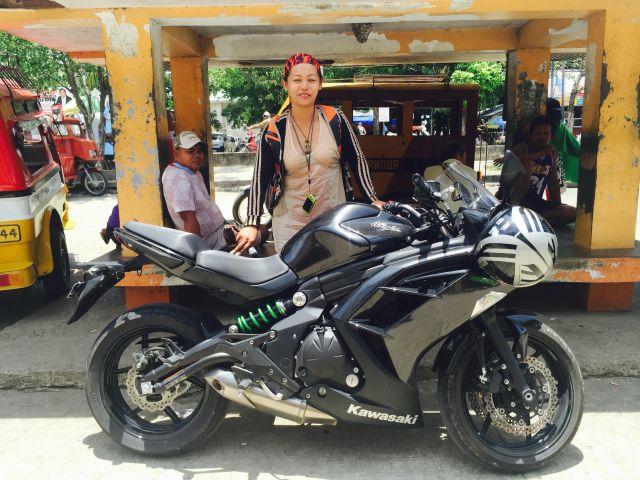 Rent Kawasaki NINJA 650cc in bohol