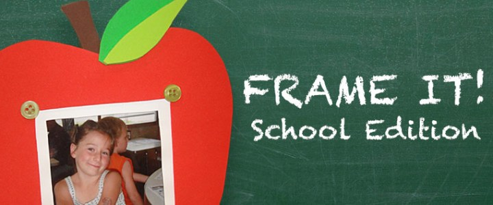 DIY Back-to-School Picture Frame