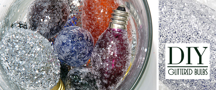 DIY Upcycled Christmas Bulb Craft