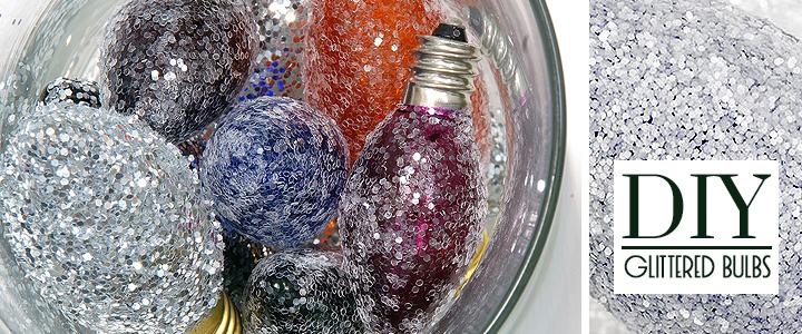 DIY Upcycled Christmas Bulb Craft