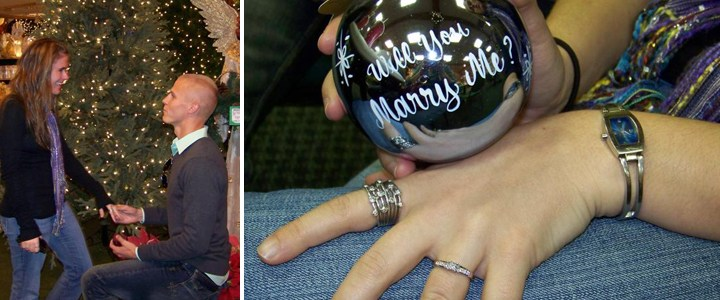 Marriage Proposals Take Place at Bronner's