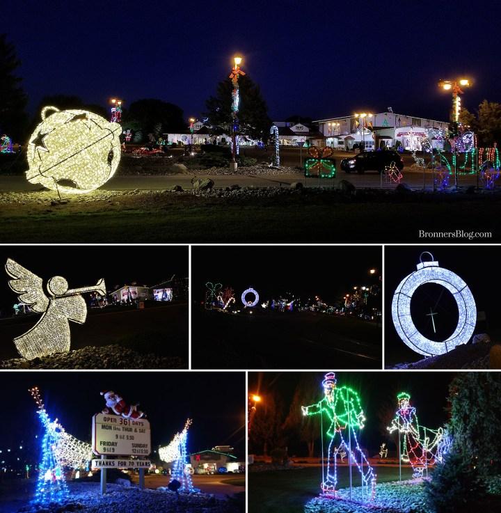 Bronner's Christmas Wonderland's Christmas Lights Displays