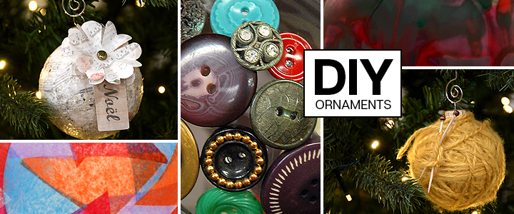 Do-it-yourself Christmas Ornaments
