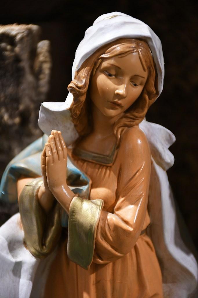 Praying Mary Fontanini Figure.