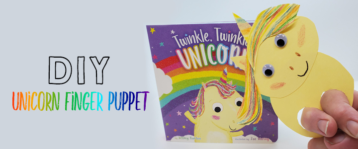 DIY Unicorn Finger Puppet