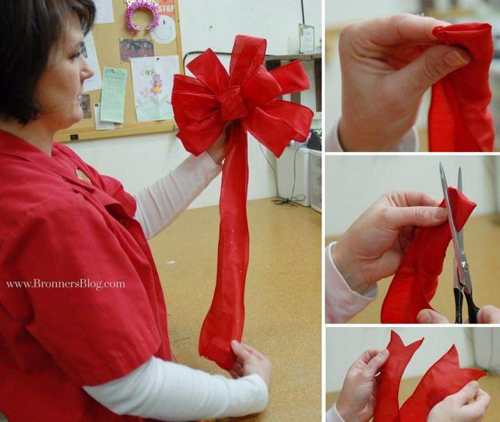 Fold And Cut Ribbon Tail