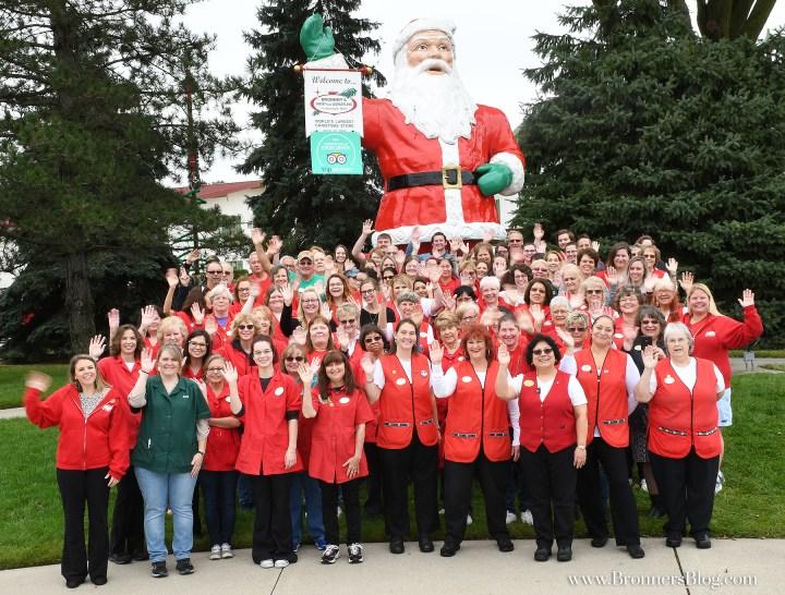 Bronner's Christmas Wonderland staff in 2018