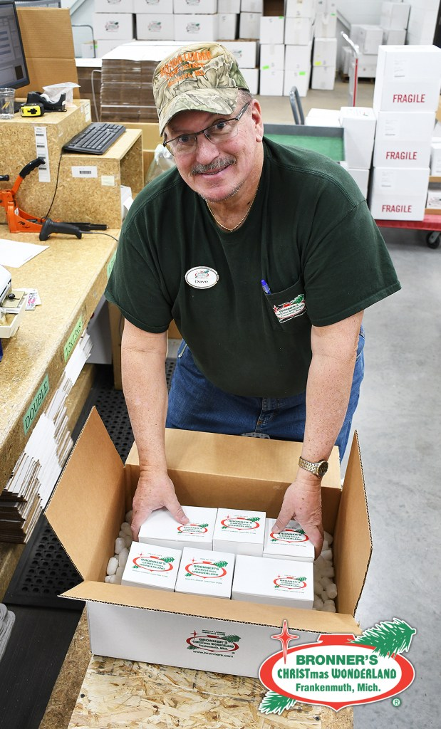 Dave from Bronner's Shipping and Fulfillment Department