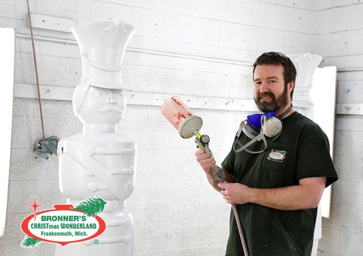 Bronner's Air Brush Artist, Jason