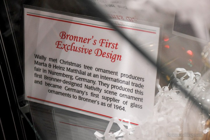 Bronner's First Exclusive Design Ornament Story