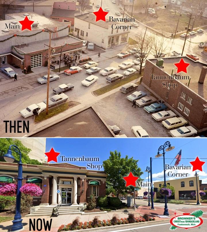 Bronner's CHRISTmas Wonderland's 3 Original Downtown Frankenmuth Locations
