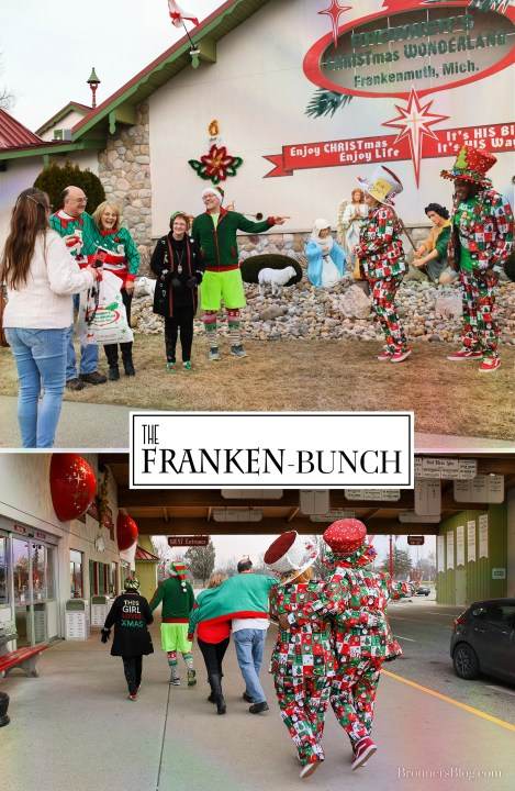 The Franken-bunch Spread Christmas Cheer In Frankenmuth