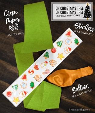 Oh Christmas Tree Game Supplies