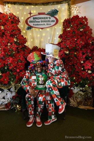 Jon And Gabi Dressed Up For Christmas
