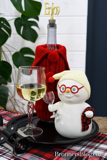 Wine Tasting Snowpinion Collectible By Department 56