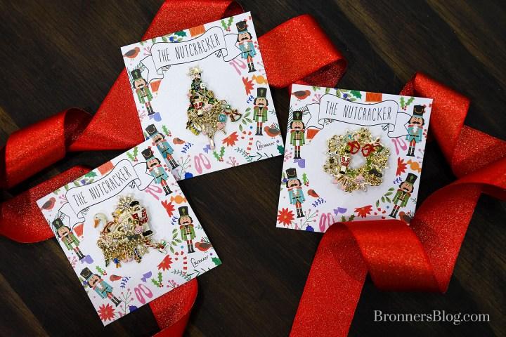 The Nutcracker Themed Christmas Pins