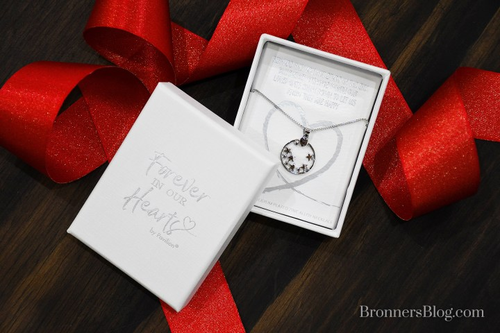 Forever In Our Hearts Star Memorial Necklace