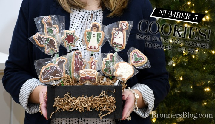 Nativity Story Iced Christmas Cookies