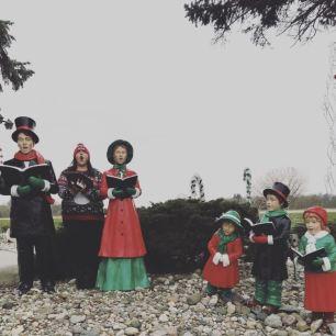 Caroling display at Bronner's CHRISTmas Wonderland