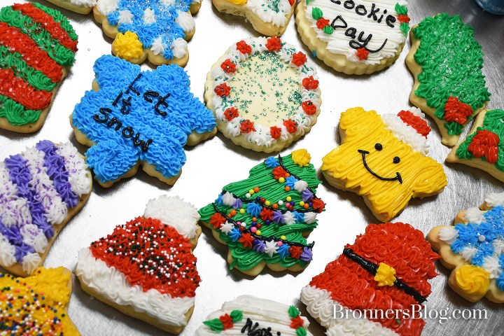 Decorated Sugar Cookies From Bronner's