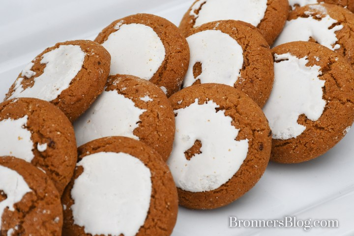 Iced spice cookies