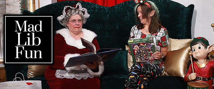 Mrs Claus Reads Christmas Story Mad Lib