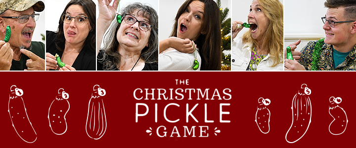 The Christmas Pickle Game