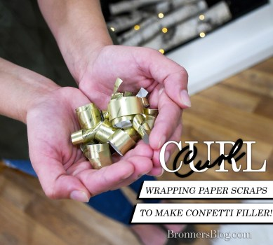 Curled Wrapping Paper Confetti