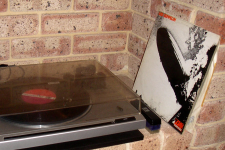 Led Zeppelin on the turntable
