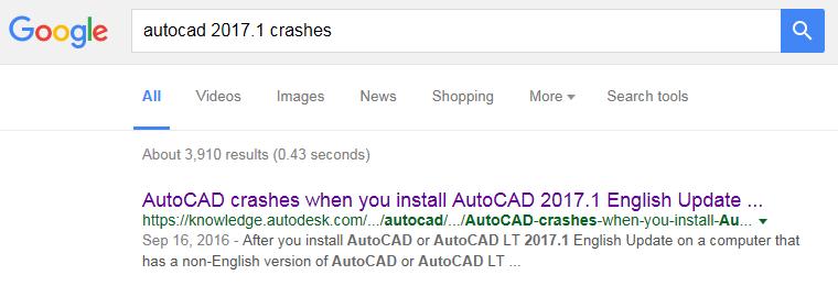 autocad2017-1crashgoogle
