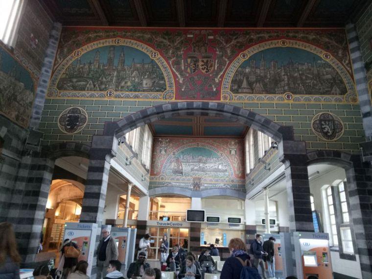 St Peter's Station interior