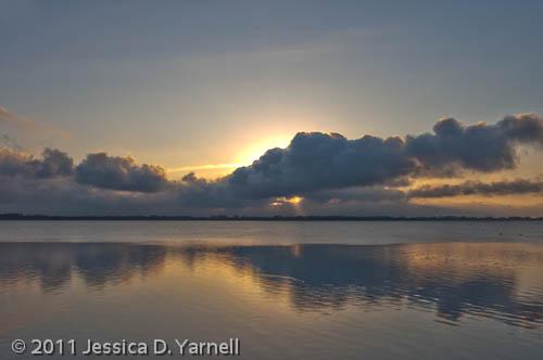 Overcast Sunrise (HDR)