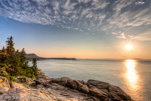 Sunrise over the Great Head, Acadia National Park