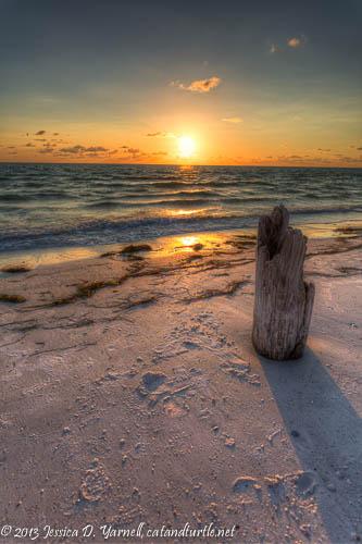 Sunset on North Beach