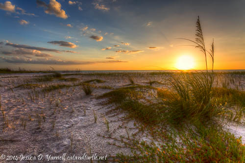 Sunset at Fort De Soto