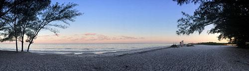 North Beach at Dawn