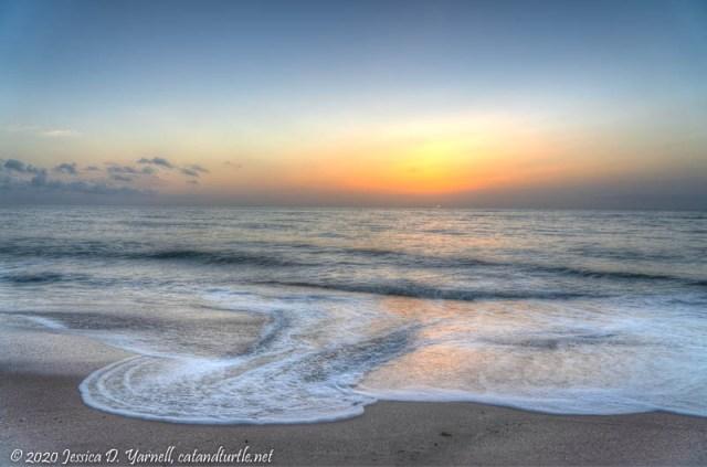 Sunrise before Isaias
