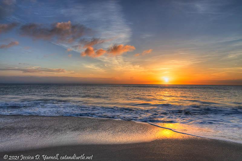 Sunrise over Florida's East Coast
