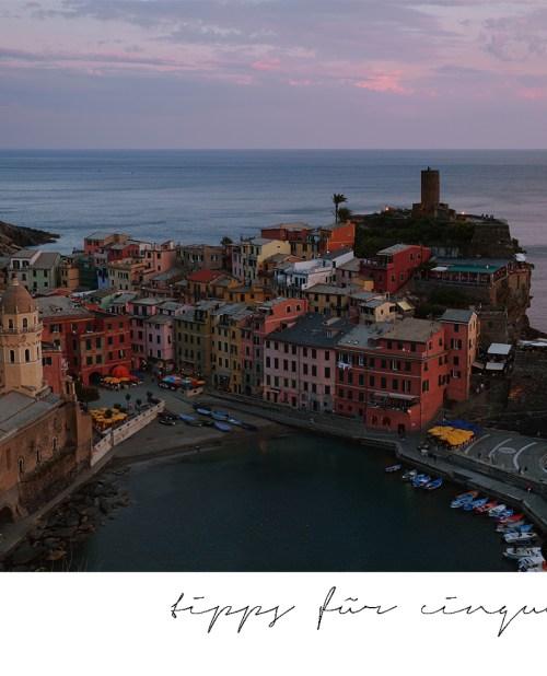 Vernazza; Cinque Terre; Ligurien; Italien