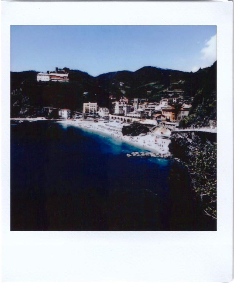 Polaroid; Fujifilm sq10; Cinque Terre, Monterosso al Mare