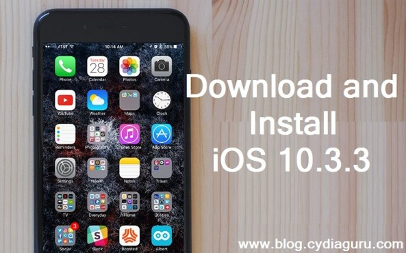 install iOS 10.3.3