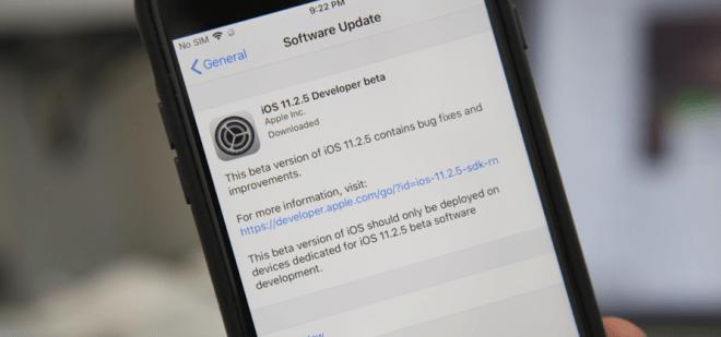 iOS 11.2.5 beta 01