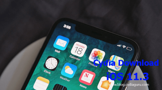 cydia download ios 11.3